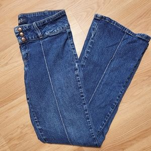 lei Indigo Boot cut Stretch Jeans Size 11